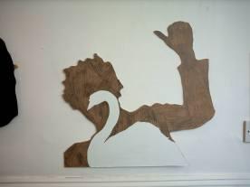 16 mr jack 2006, wood, sticky plasticpaper.16