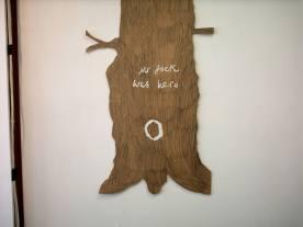 18 mr jack 2006, wood, sticky plastic, 18